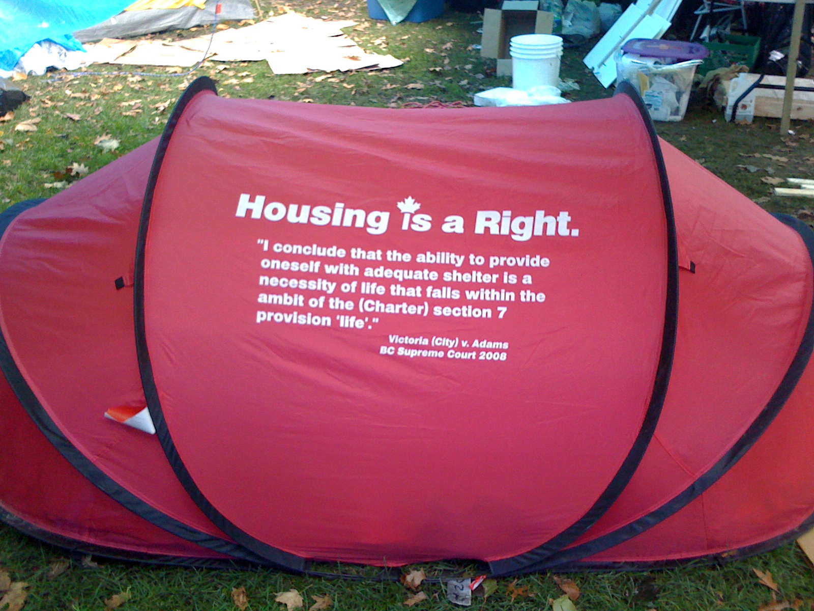 End Homelessness, Spare Tent Cities, Academics Tell BC Government