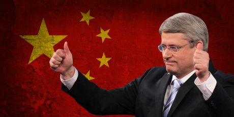 Harper's Sellout Canada-China FIPA Deal Dismays Canadians
