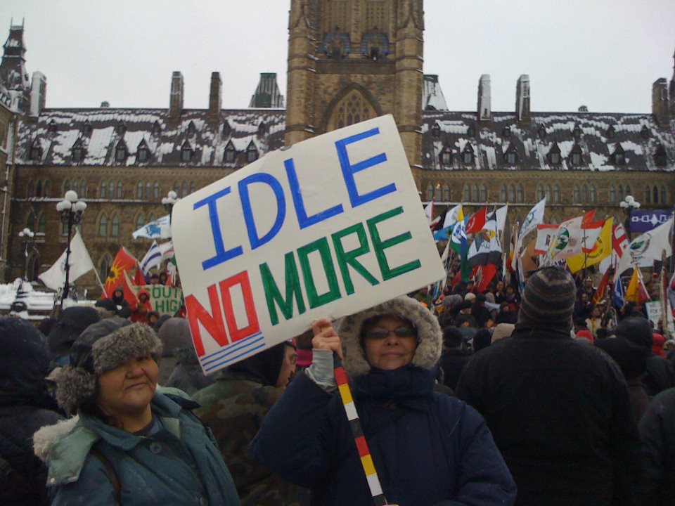 Sovereignty Summer: Idle No More Launches New Website