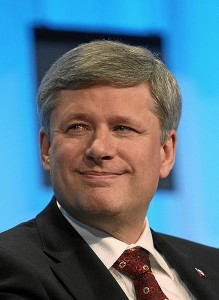 Stephen Harper. (Photo: Remy Steinegger)