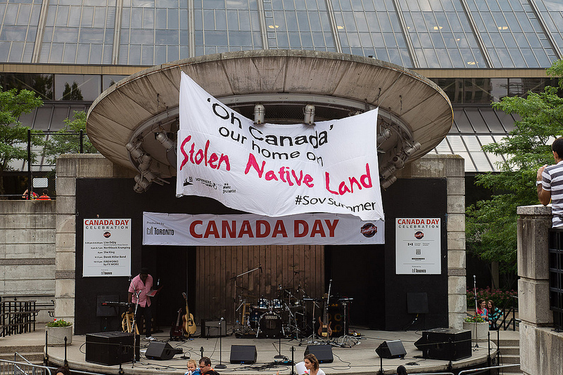 Idle No More Canada Day statement: This is stolen Native land