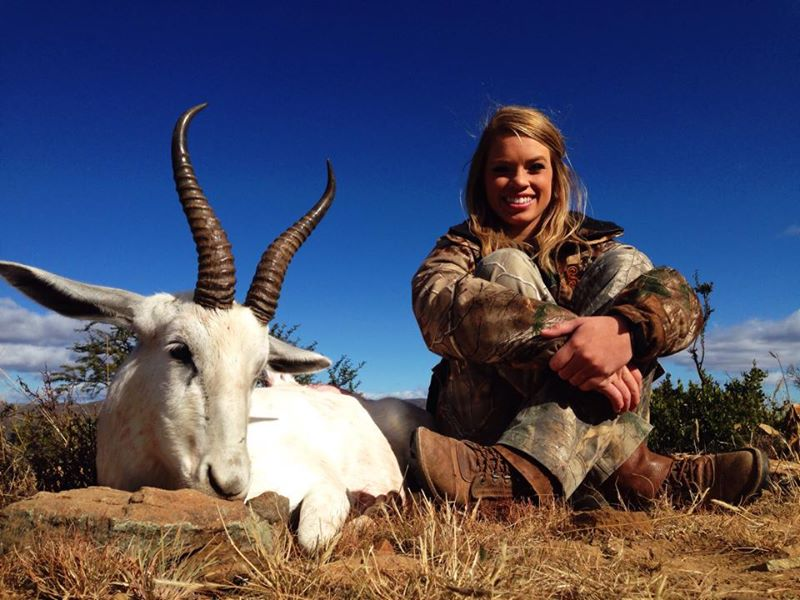 Texas cheerleader Kendall Jones brags about killing endangered African animals