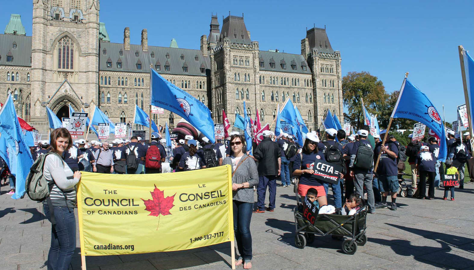 130 civil society organizations reject Canada-EU CETA trade deal