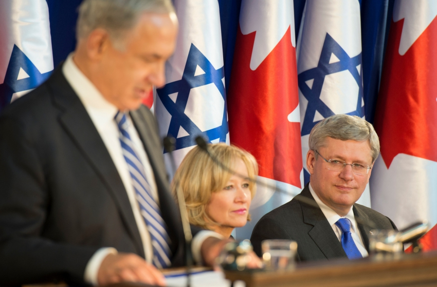 Harper's effort to criminalize legitimate Canadian criticism of Israel is diabolical