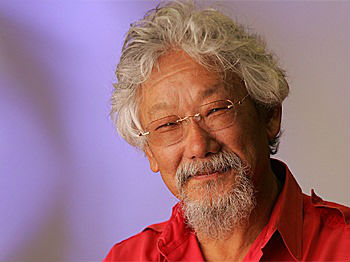 David Suzuki: Let's vote for the values that make Canada great