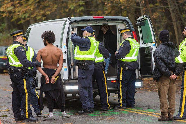 Many Burnaby Mountain arrests may have been illegitimate, says BCCLA