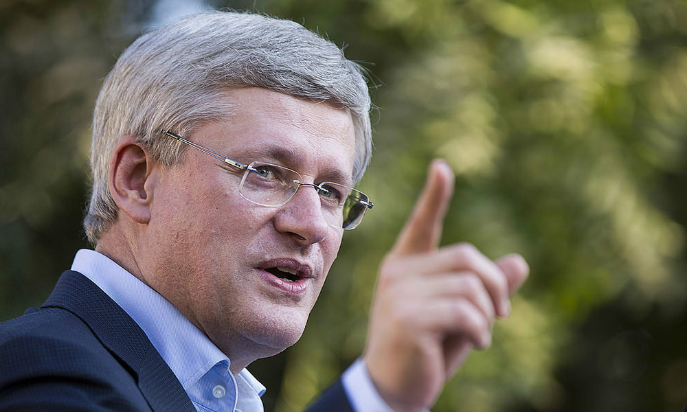 "Stephen Harper says ""big multilateral trade deals are dead"""