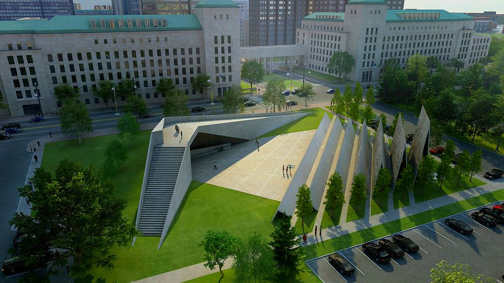Harper scolded by Conservatives over grotesque anti-communism memorial in Ottawa