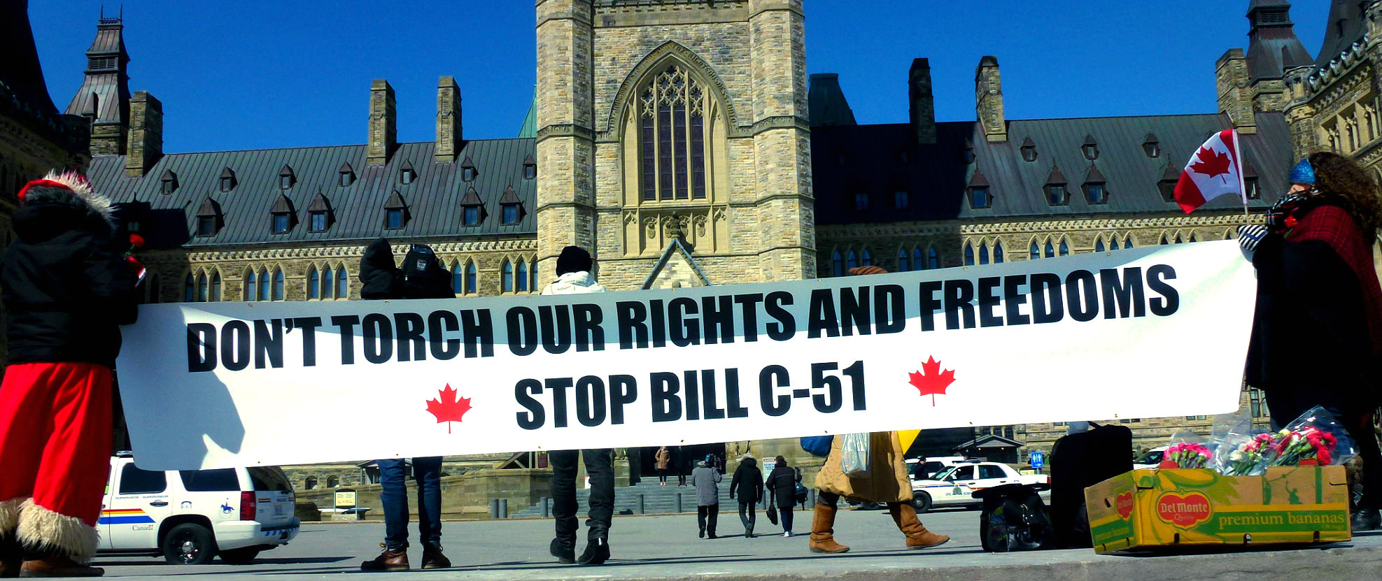 Elizabeth May Rejects Harper's Cosmetic Bill C-51 Amendments