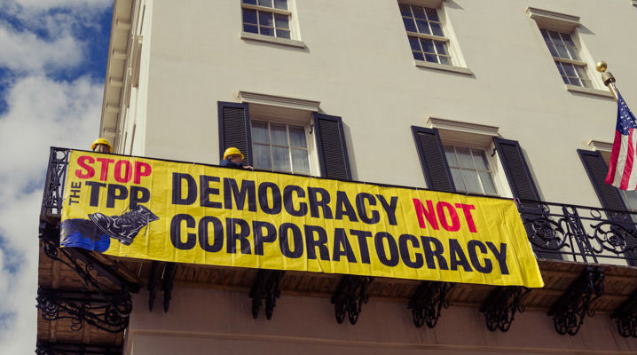 WikiLeaks reveals TPP proposal empowering corporations to sue nations