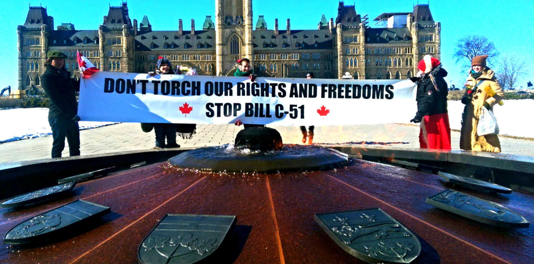 Anonymous Attacks Harper Government Websites In Bill C-51 Protest