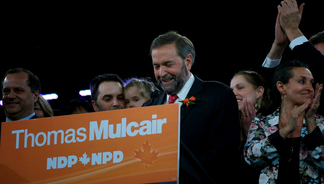 B.C. residents choose Mulcair as prime minister in post-debate poll