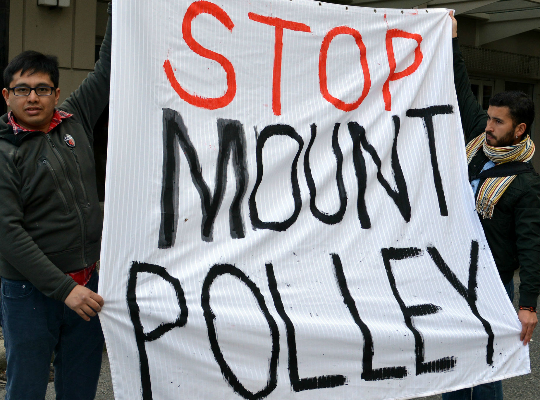First Nation group and allies resist re-opening of Mount Polley mine