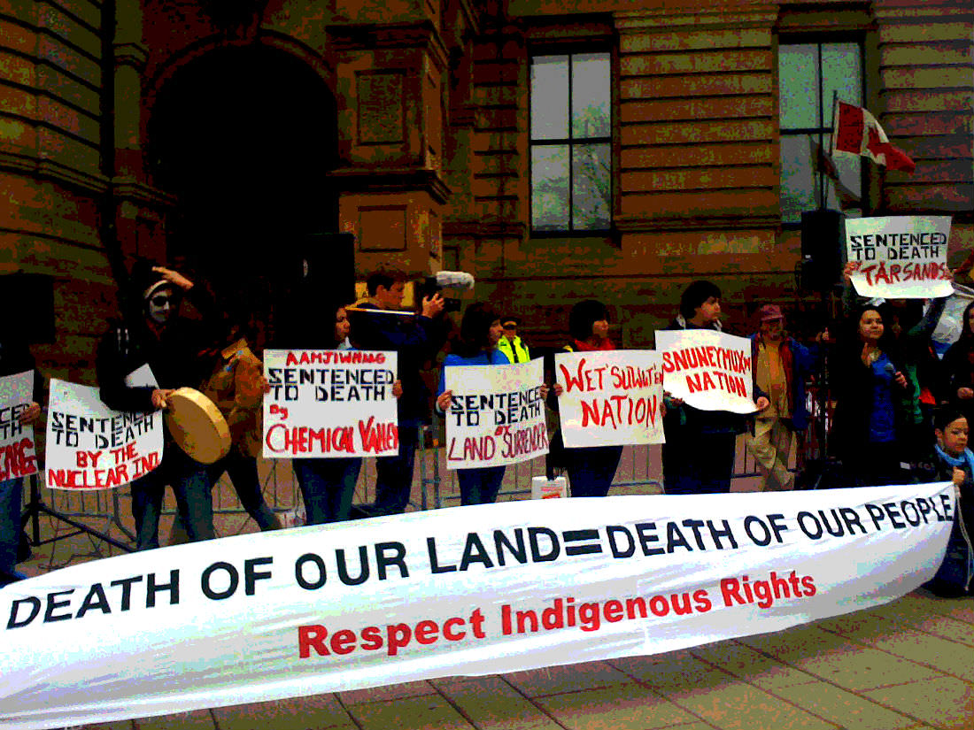 """Energy East: """"Treaty and Aboriginal rights must be respected"""""""