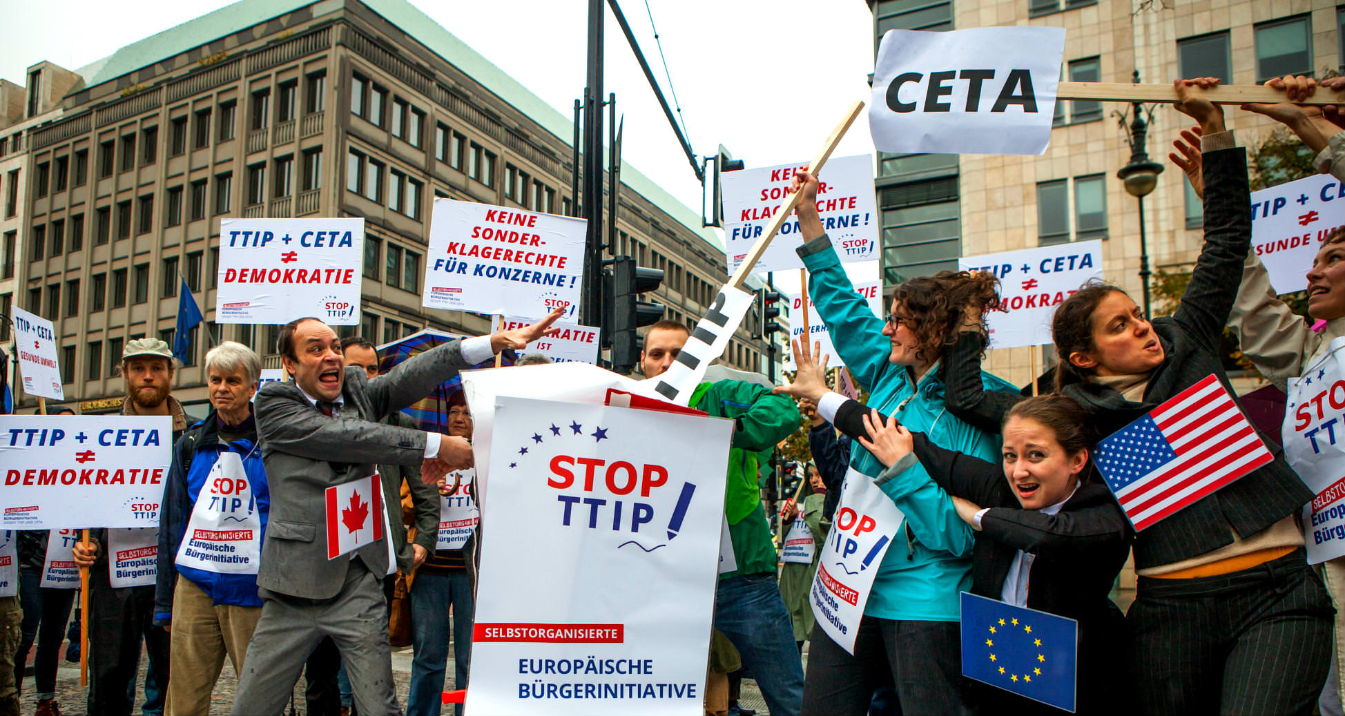 Progressive voters favour independent assessment of Harper's CETA trade deal: Poll