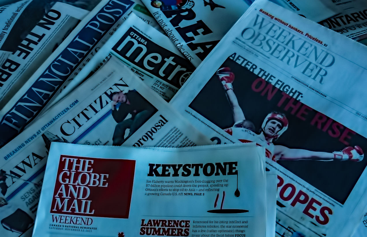 Michael Geist: Why Journalism is not Dying in the Digital Age