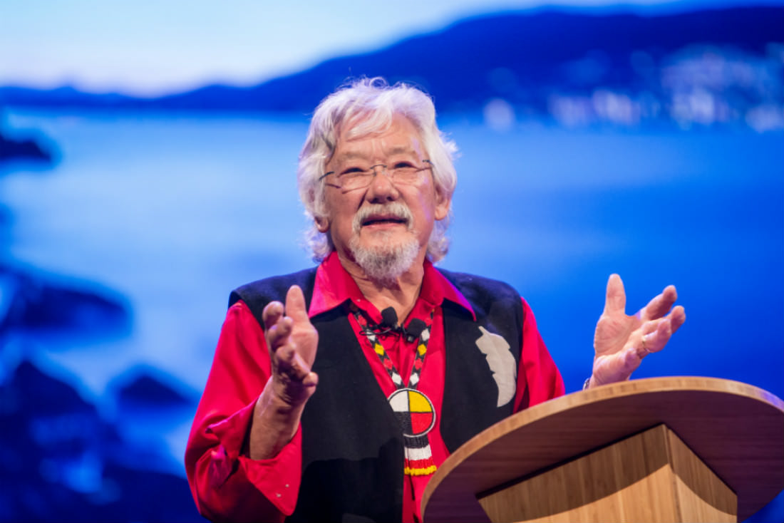 David Suzuki: Cutting through polluted public discourse