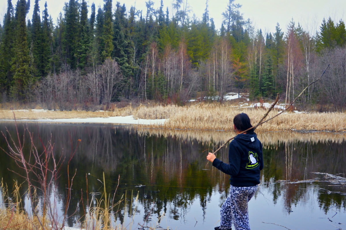 Olivia Loccisano: Kind like a tree, calm like a river in the First Nations town of Conklin, Northern Alberta