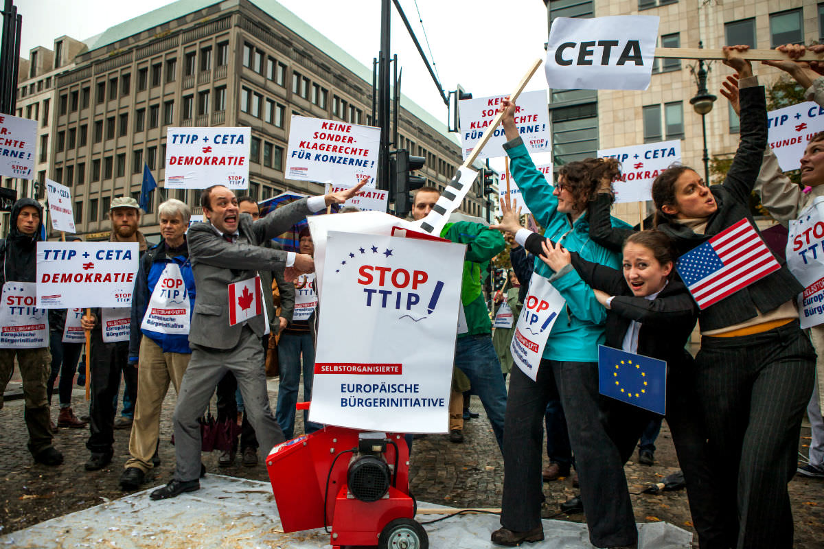 Canadian academics' open letter to Wallonia on CETA deal