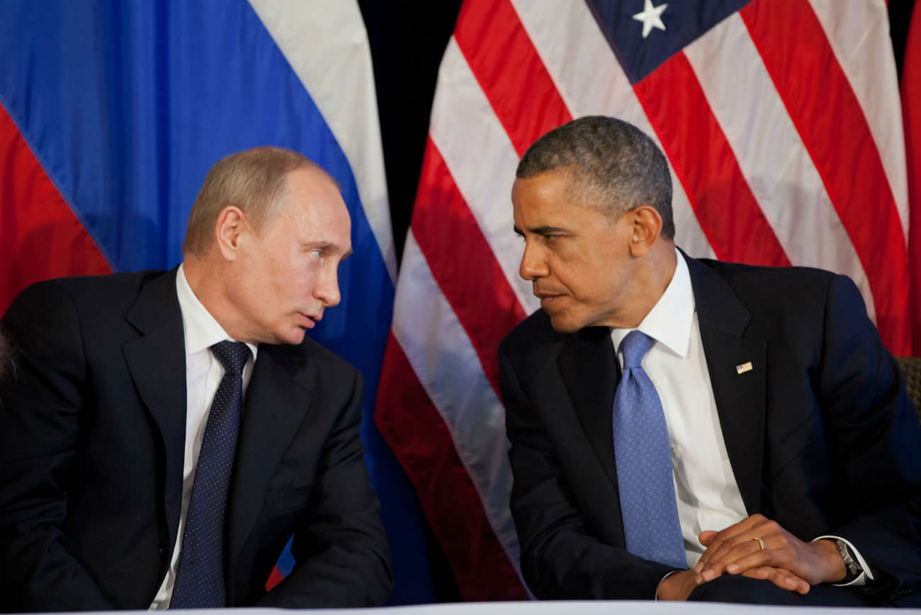 """Cold War deja vu"" as President Barack Obama expels 35 Russian diplomats"
