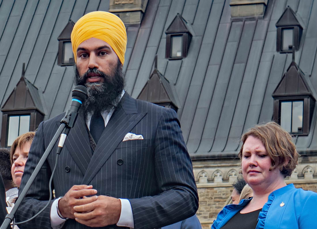 New NDP Leader Jagmeet Singh battles racism in Canadian politics with love