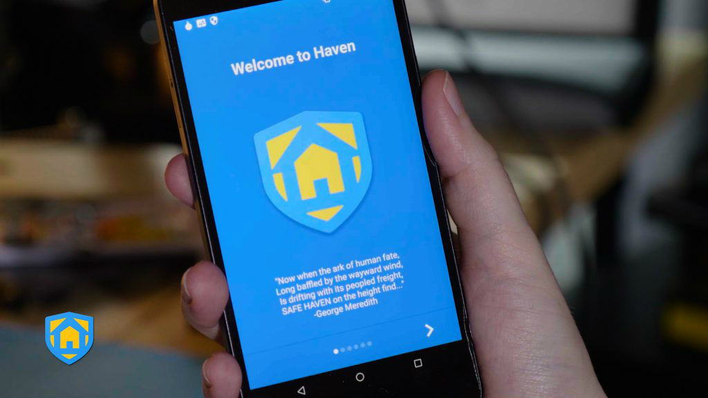 Edward Snowden creates Haven, a security app for journalists and human rights defenders