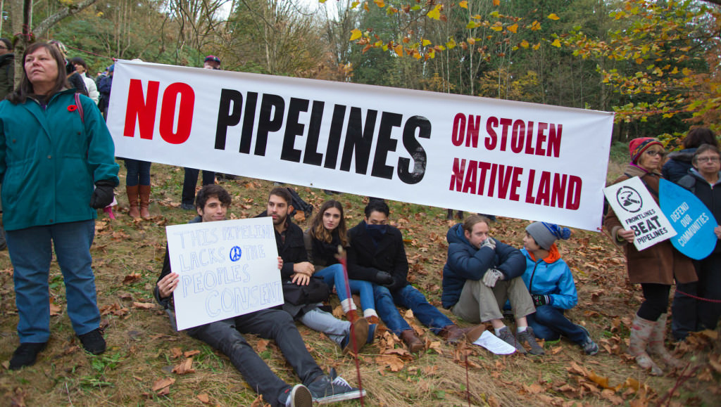 """Trans Mountain pipeline """"will not be built,"""" vow First Nations and allies"""